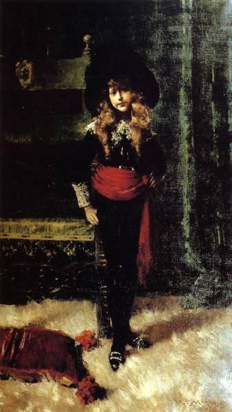 Elsie Leslie Lyde as Little Lord Fauntleroy